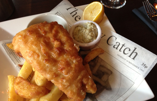 fish and chips via Smabs Smutzer on Flickr