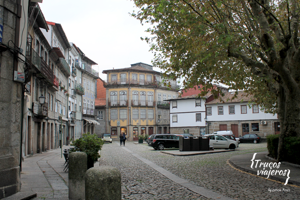 Streets of Guimaraes, Portugal