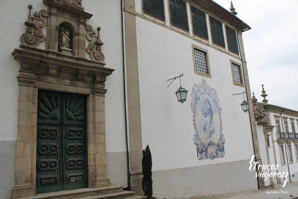 Tiled wall church Guimaraes