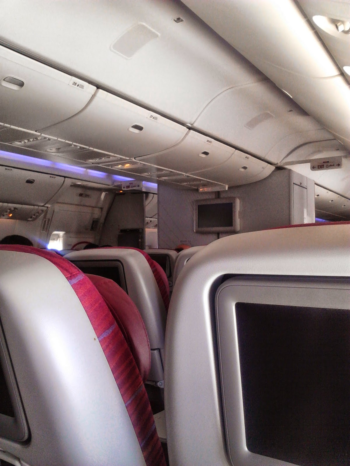 C mo es volar con qatar airways cr nica de un vuelo for Oficina qatar airways madrid